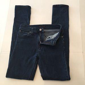 Nudie Jeans High Kai Super Skinny High Rise Sz 27